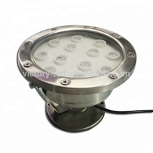 36W <strong>RGB</strong> 12V Led Underwater Boat marine light LED Underwater Light Wash Pool Waterproof Outdoor Lighting Lamp IP68