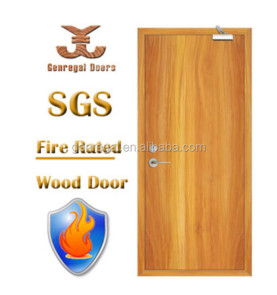 High Quality BS476 wooden fire retardation lacquer fire door