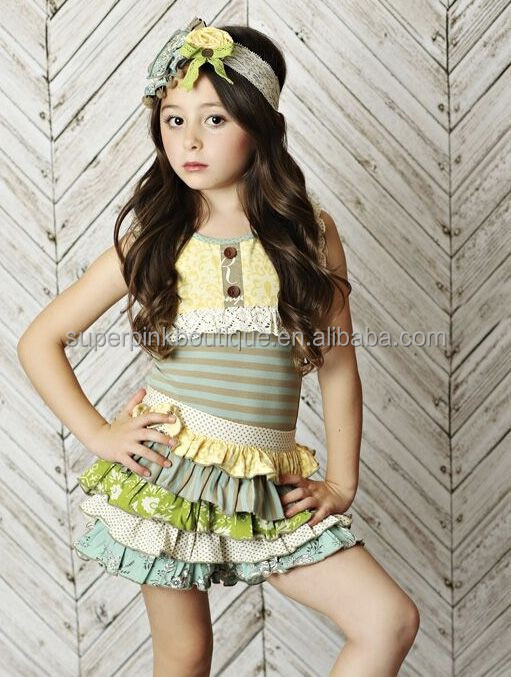 mustard pie remake ruffled skirt outfit toddler girl boutique sets