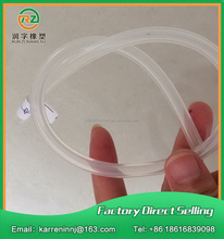 Premium quality hot sell food grade silicone rubber tube
