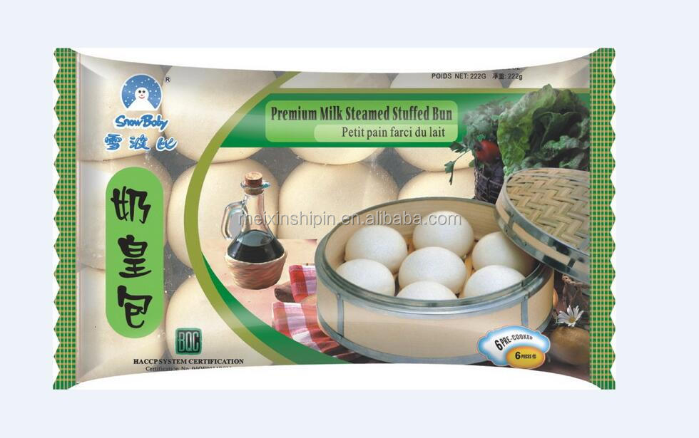 frozen food premium Milk steamed stuffed bun