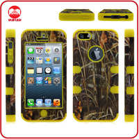 2013 New Fadeleaf Design Defender Triple Layer Shock Proof Phone Case for Iphone 5
