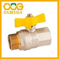 "Brass Gas Ball Valve For Gas MXF 1/2""-1"""