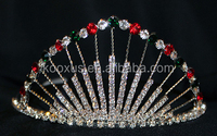 Holiday Tiara with side combs crowns