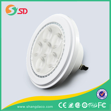 New Products 2016 Innovative Product AC 12V 12w Fin Type G53 AR111 Led Par Light Led Spot Light For Shopping Mall