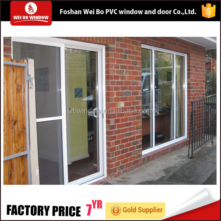 High quality pvc door for sale,low price sliding door plastic slider dors