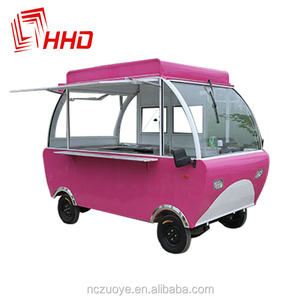 Hot Food Snack Pizza Cafe Royal Coffee Vending Machine Kiosk,Cart For Crepes,Mini Food Cart