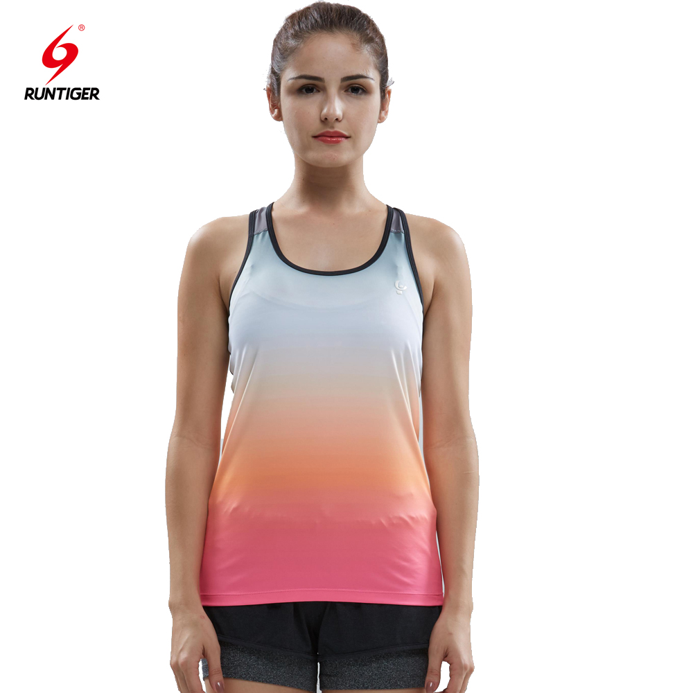 China wholesale High Quality Gym Clothes Custom Design Women Athletic Tank Tops