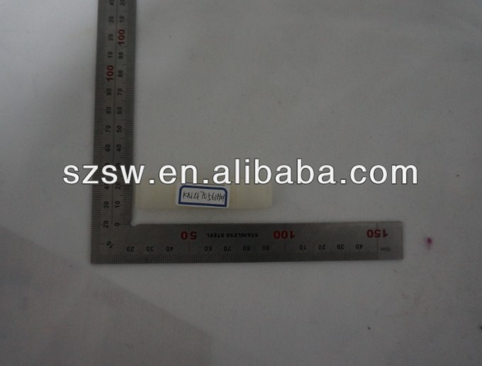 elevator accessories KM470561H01 plastic door slider