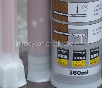 BYJ805 epoxy-based adhesive for threaded rod anchoring