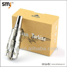 the russian big rba atomizer steam turbine atomizer with air flow control fit flat wrap coil
