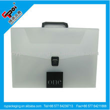 A4 PP document case with handle/document holder