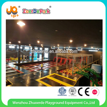 2017 China Large indoor professional trampoline park for sale