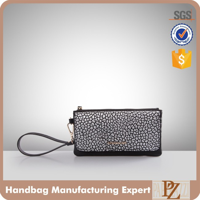 5048 - Slim Women's Wallet Wholesale PU Leather Ladies Clutch Purse for Evening Party