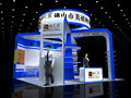 China exhibition stand factory produce trade show display, we provide free exhibition design