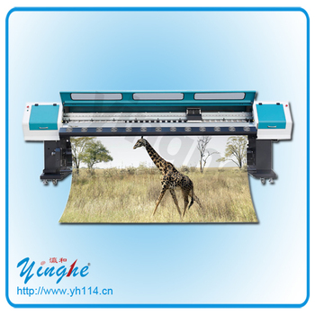 Outdoor 3.2m Spectra Polaris large format solvent printing machine