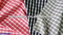 cotton/polyester seersucker shirting fabric