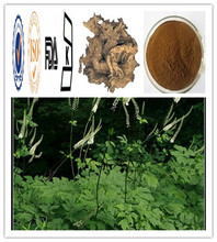 High quality Triterpene Saponins 2.5% 8% Actaea racemosa L. Black Cohosh P.E.