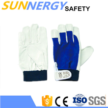 Best gloves for workers with the palm reinforce hand palm protection heavy industrial glove hand gloves making machine