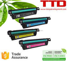 TTD Compatible Toner Cartridge CE250A CE251A CE252A CE253A for HP Color LaserJet CP3025 3525N 3525DN CM3530MFP 3530FS MFP