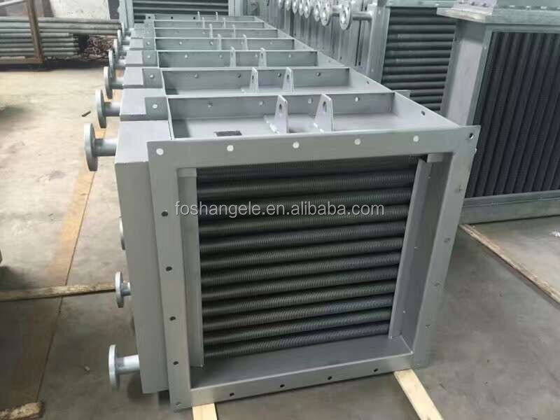 Finned Tube Air Recuperator & Evaporator Coils For Air cooling