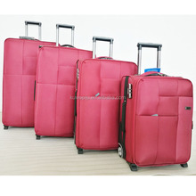 nylon soft style 4 piece set leisure luggage company