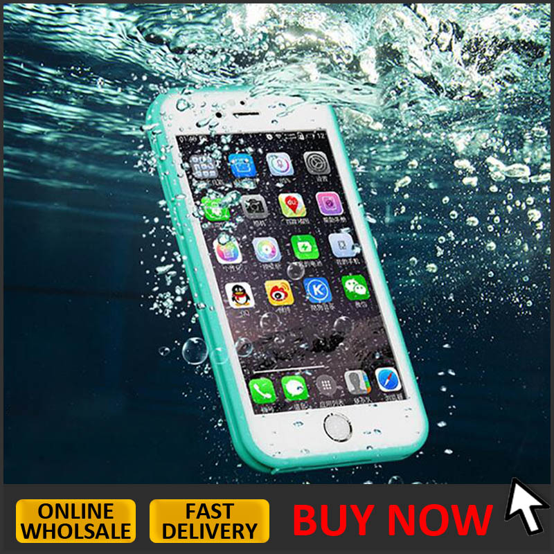 waterproof phone case slim 2017 new hot selling cell phone waterproof case for iphone 7 6 6s plus