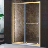 china alibaba bath sliding glass shower box/shower screen bathroom door