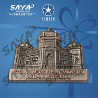 Metal muslim souvenir gift for custome desin