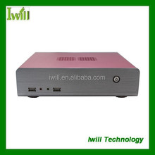 Iwill HT60 aluminum mini itx pc chassis/case for HTPC without power supply