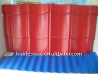 Factory-Sale Color Coated Steel Roofing Sheet