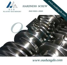 bimetallic parallel twin screw and barrel for recycled plastic