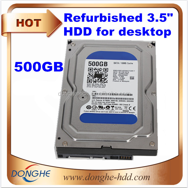 [used hard disk drives 500g]electronic scrap hard drives 3.5 sas pc hard drive