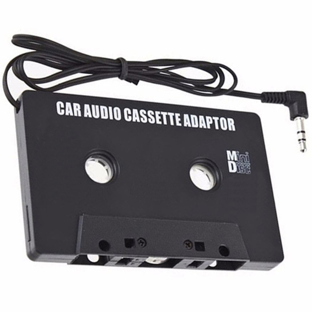 Old Car Music System Mobile Aux Audio Converter MP3 Adapter Cassette Player