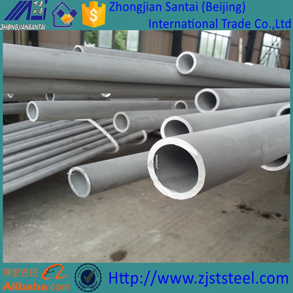 Stainless steel 304L/312/316L astm series seamless pipe price per meter/ton/kg