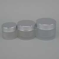 New Design Frosted Glass Cosmetic Bottle