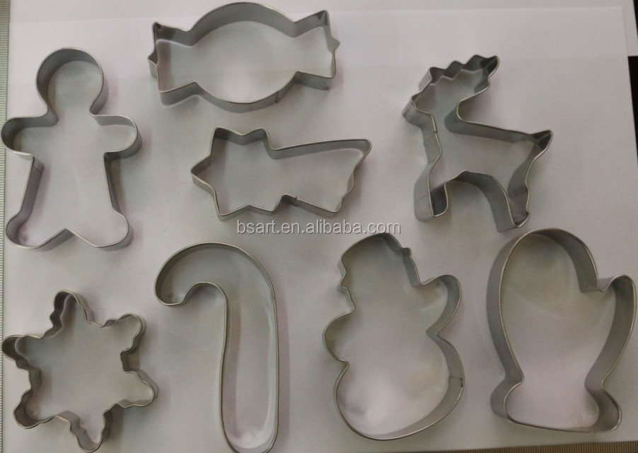 horse shape arabic alphabet cookie cutter set / cookie press