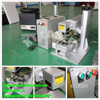2015 0.2mm 0.4mm fiber laser marking machine 50w to cutting gold