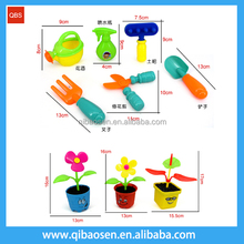 Best selling popular garden toys safe material ABS plastic cartoon farm set