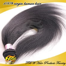 2015 Hot Sale 100% Unprocessed 6A Grade Kinky Straight Yaki Hair Weave Free Sample Hair Bundles