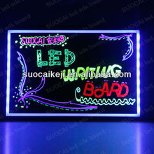 2013 Morden design advertise innovative new products acrylic led illuminated sign
