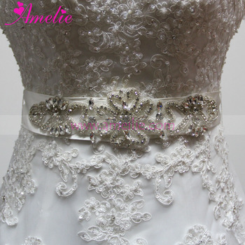 Wedding Dresses Accessories Rhinestone Trimming Party Prom Dress Belt Accessories