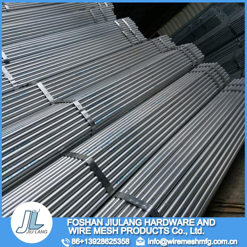 Mesh supplier high strength electrical wire conduit hot galvanized steel pipe