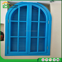 Arched wood carving shutters window blind,antique wood shutters