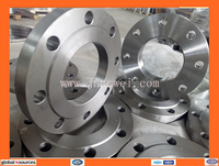 steel pipe serrated face flange