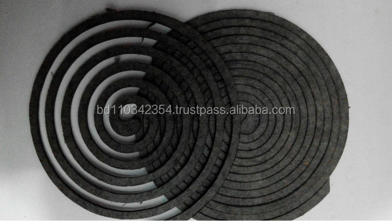 hot sell China Unbreakale plant fiber mosquito coil herbal mosquito coil paper mosquito coil smokeless coil