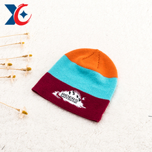 Import advanced knitting machine new style customized fashion winter hat for young girls