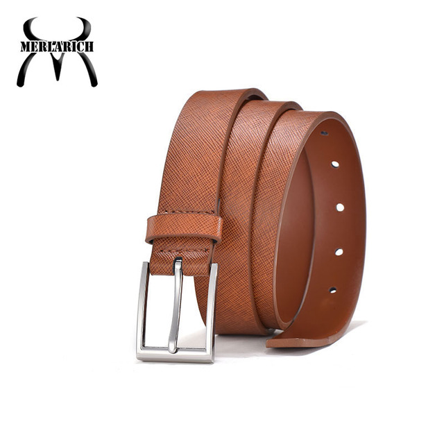 Wholesale genuine formal leather 0-165cm men's fashion belt