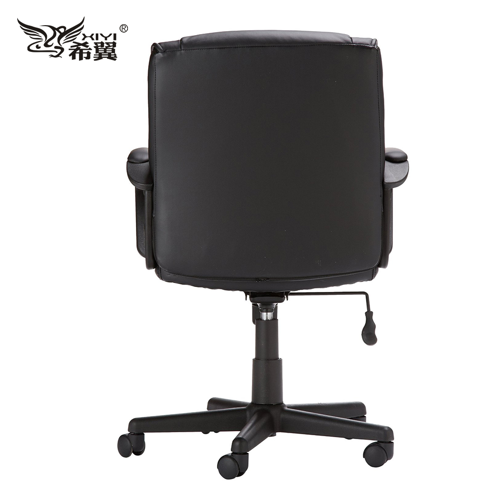Black Modern Executive Iso Lift Chair With Swivel