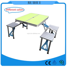 Outdoor Furniture General Use and Yes Folded aluminum folding picnic table
